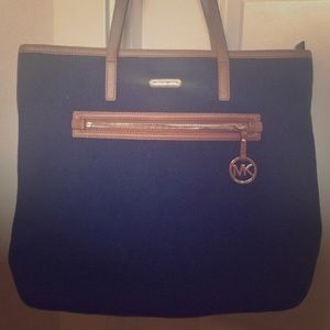 Handbags - Micheal Kors Canvas Tote